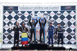 Taylor Brothers Win Chevrolet Sports Car Classic on Belle Isle