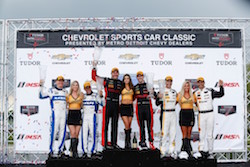 Dane Cameron and Eric Curran Drive Action Express Racing Corvette DP to Detroit Win