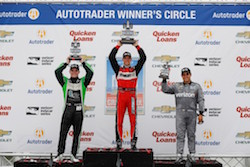 Sebastien Bourdais Wins Second Detroit Race in a Row
