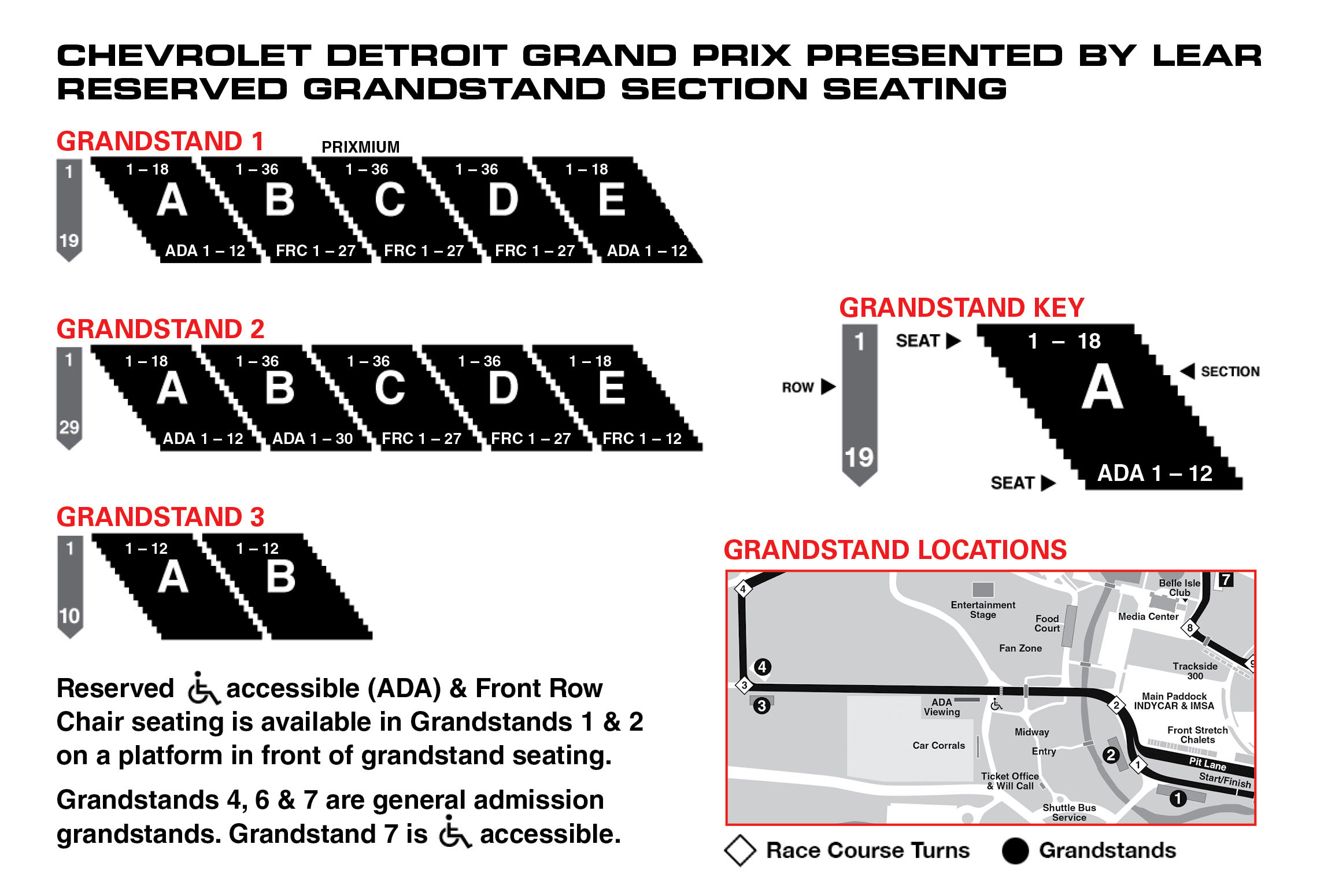 Exhibition Stand Terms And Conditions : Chevrolet detroit grand prix presented by lear may