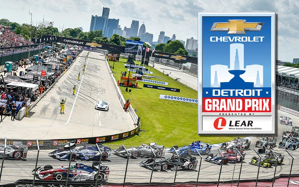 Chevrolet Detroit Grand Prix presented by Lear credentials