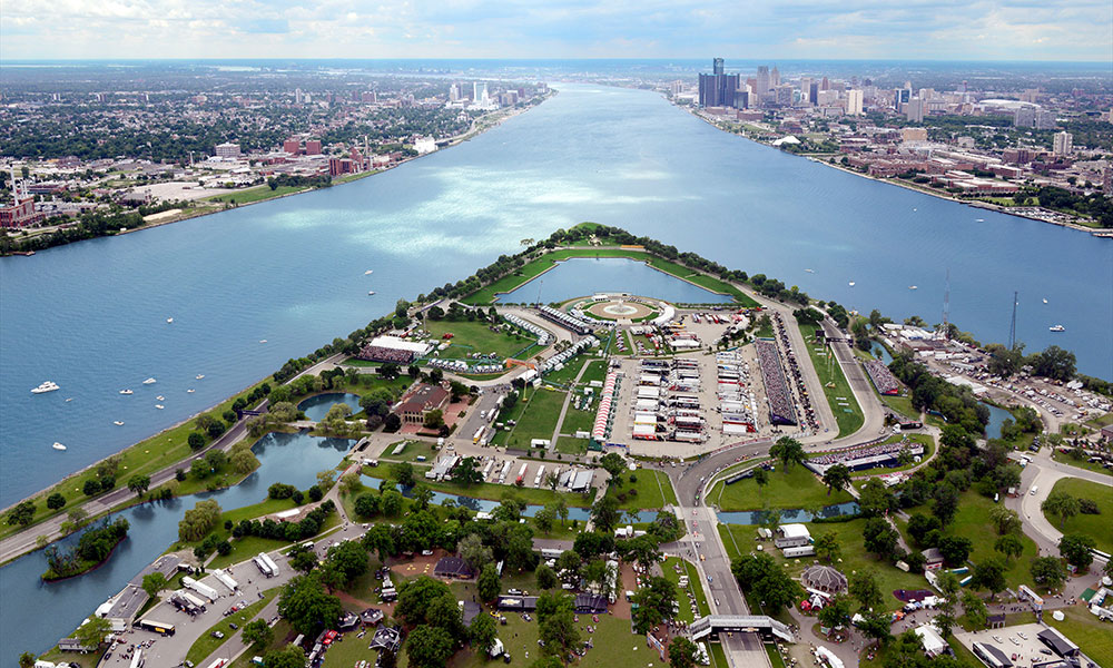 Chevrolet Detroit Grand Prix presented by Lear, June 11 - 13, 2021, Detroit, MI - Track Information