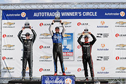 Rahal Captures Dual II to Become the First Driver to Sweep Detroit Doubleheader