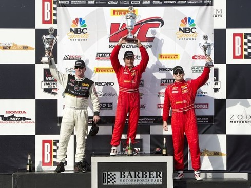 Lazzaro, Mancuso, Wilkins Score Barber Saturday Round 3 Pirelli World Challenge Wins