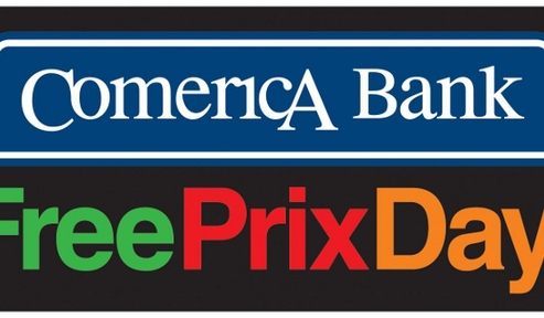 Comerica Bank Free Prix Day Returns in 2017