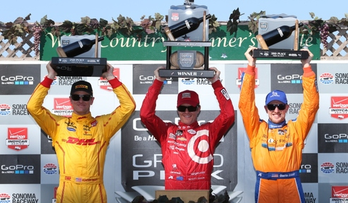 Dixon wins season finale race in the GoPro GP of Sonoma
