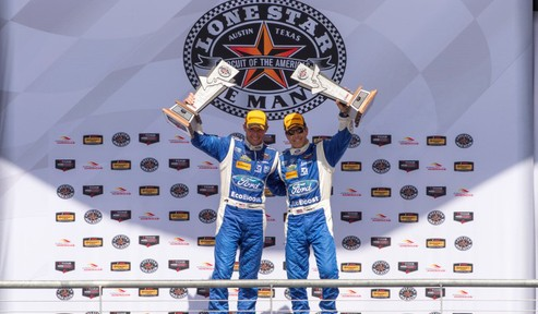 Pruett and Hand Team to Take the Lone Star Le Mans