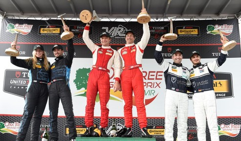 Sweedler and Bell Pick Up First Victory Since 2014 Rolex 24 at Daytona