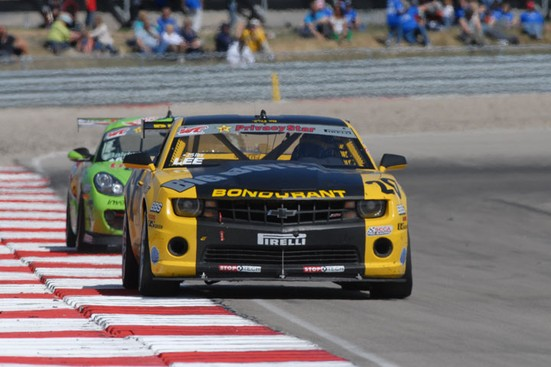 Long Wins Pirelli World Challenge GT at Utah, Lee Swipes GTS Win In Spectacular Finish