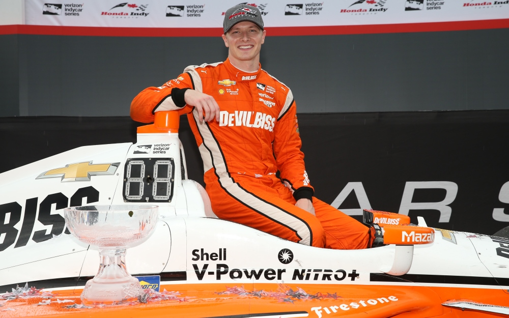 Newgarden Follows Familiar Path to Toronto Victory Lane