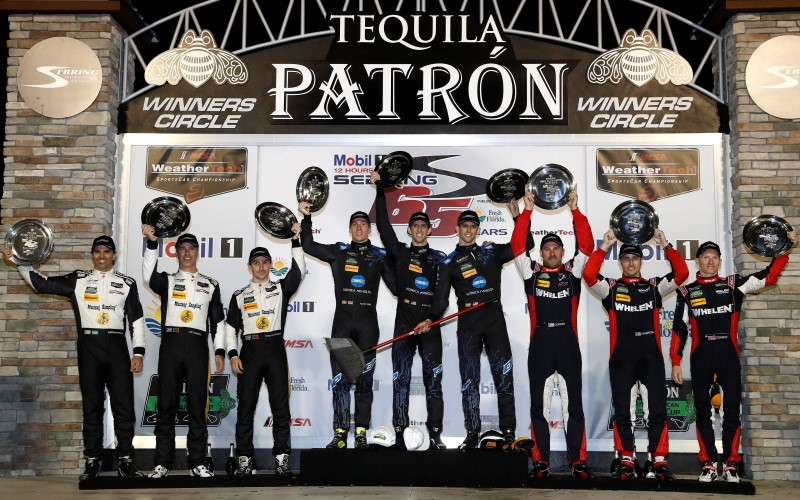 No. 10 Konica Minolta Cadillac Captures 36 Hours of Florida Honors
