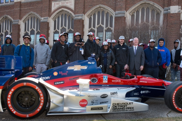 Comerica Bank Surprises Detroit Students with Grand Prix Trip