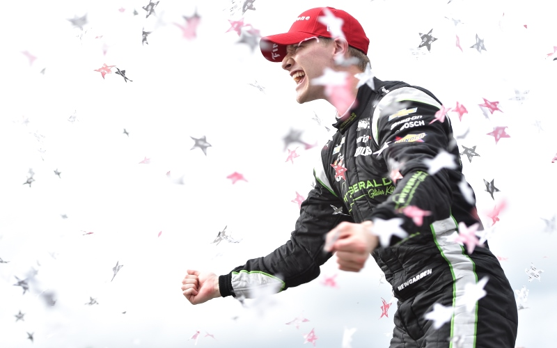 Newgarden Drives to Second Barber Win, First Win with Team Penske