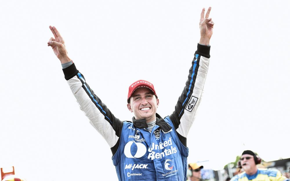 Rahal Owns the Day with Pole, Win at Belle Isle
