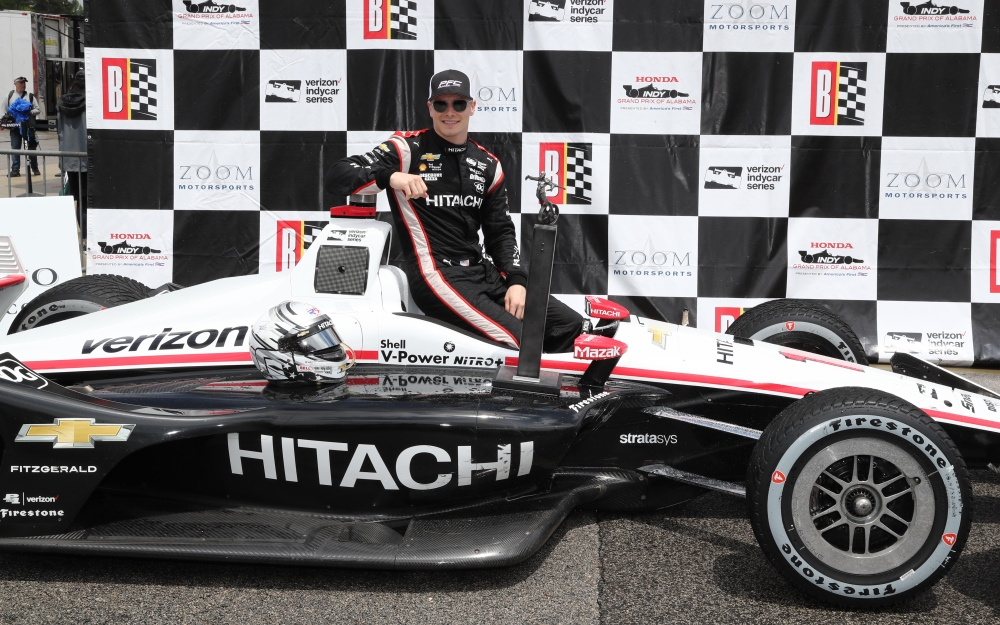 Late Rain Throws Curve, but Newgarden Still Prevails at Barber