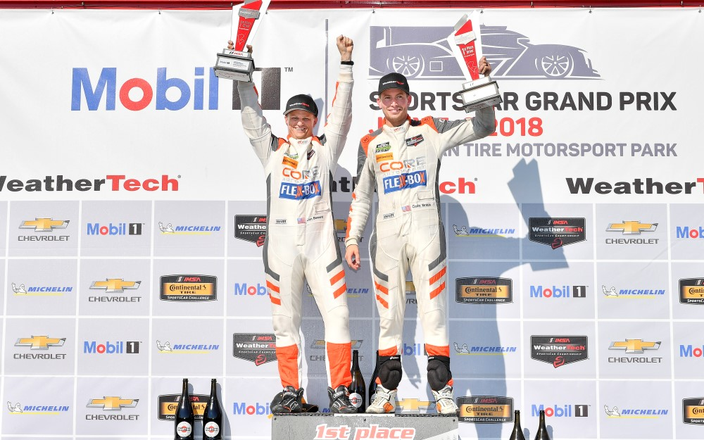 Braun, Bennett Break Through for First Prototype Class Win in Mobil 1 SportsCar Grand Prix at Canadian Tire Motorsport Park