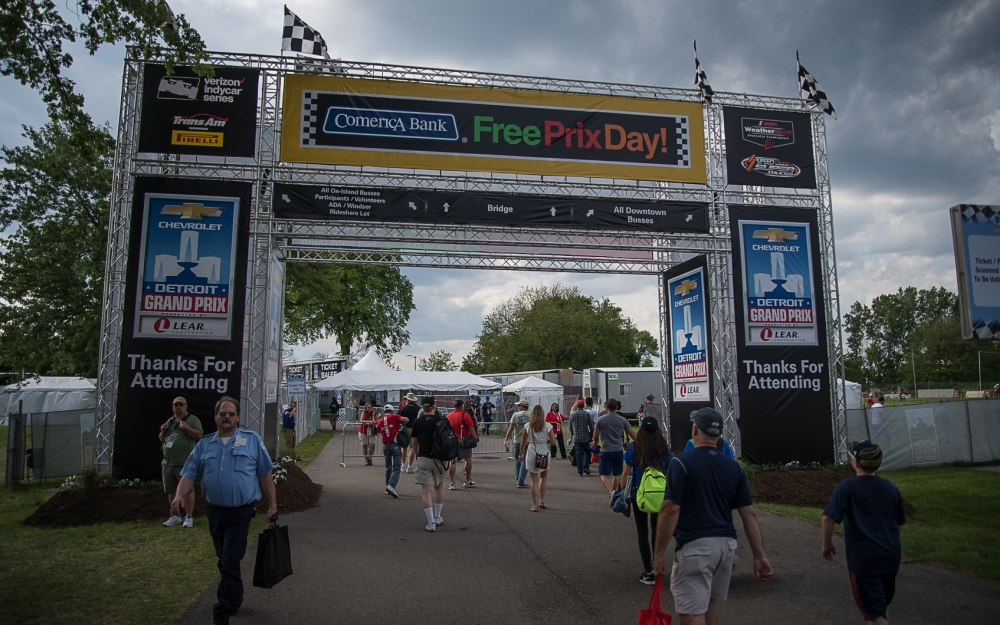 Comerica Bank Continues the Tradition of Free Prix Day at the Detroit Grand Prix
