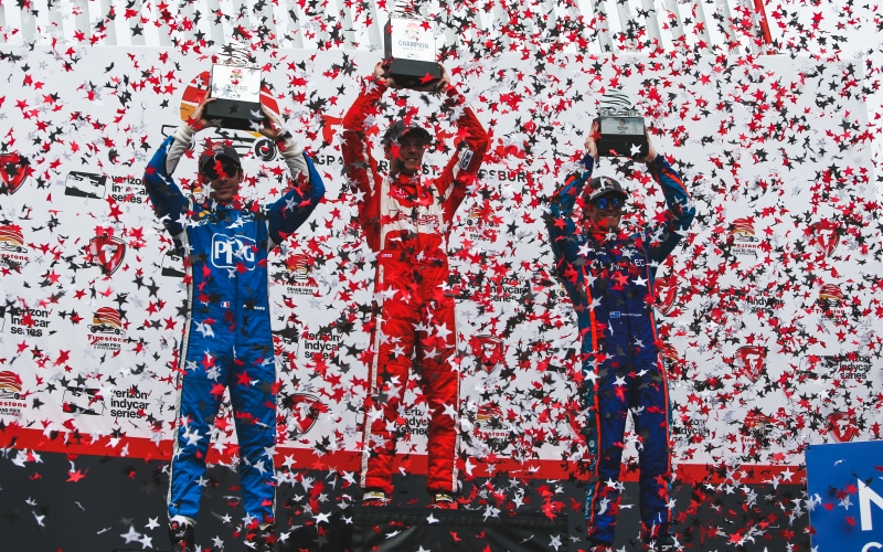 Bourdais wins with Coyne, Hapson at St. Pete