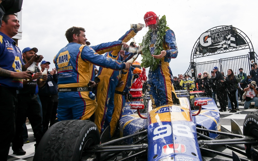 As Rossi Basks in Watkins Glen Win, Title Tilt Tightens