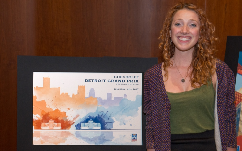 CCS Student Wins  Grand Prix Poster Contest