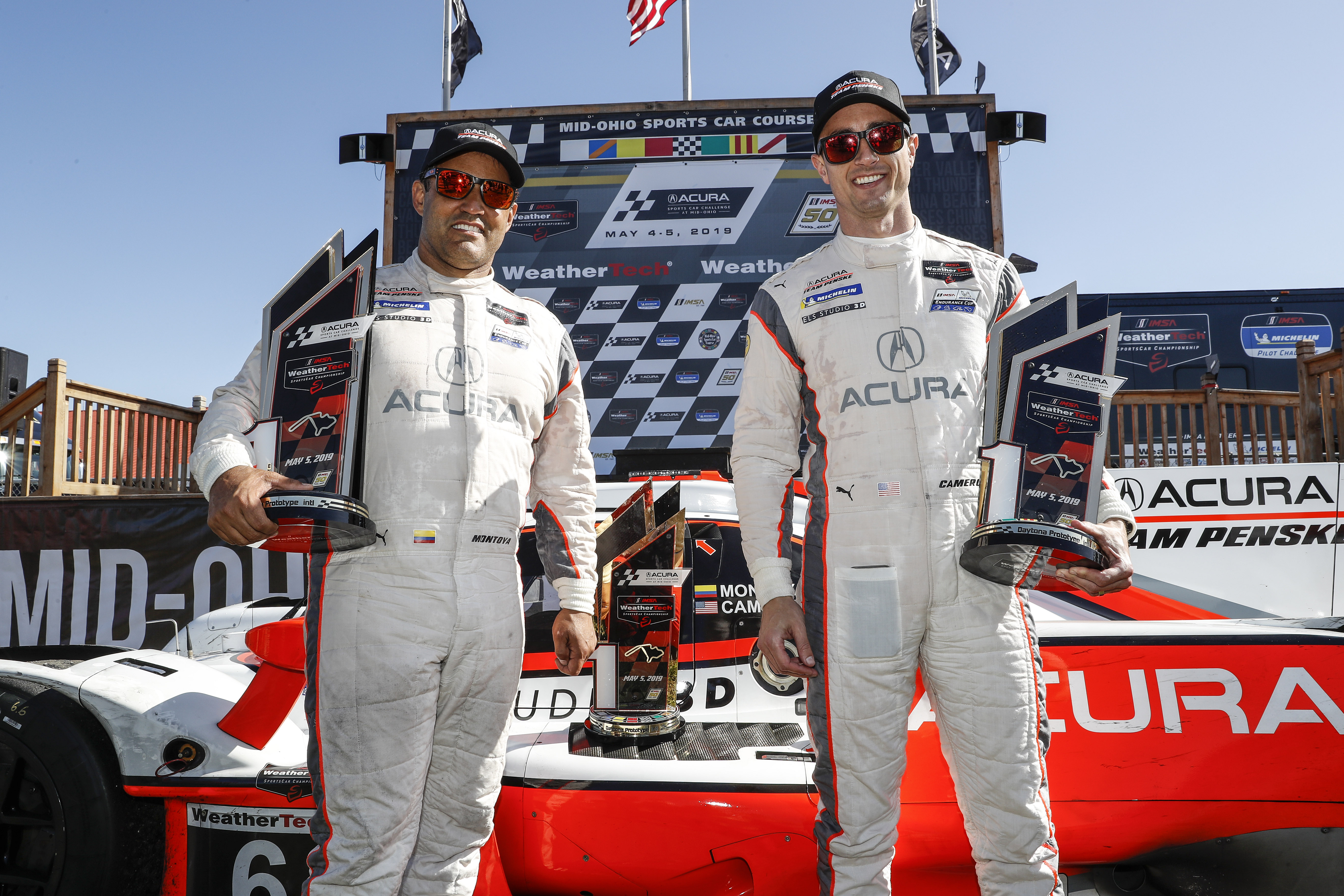 Montoya, Cameron Deliver Second Consecutive Acura Sports Car Challenge at Mid-Ohio Win for Acura Team Penske
