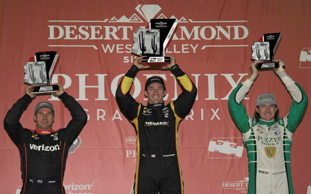 Simon Pagenaud Dominates Phoenix to Collect First Oval Win