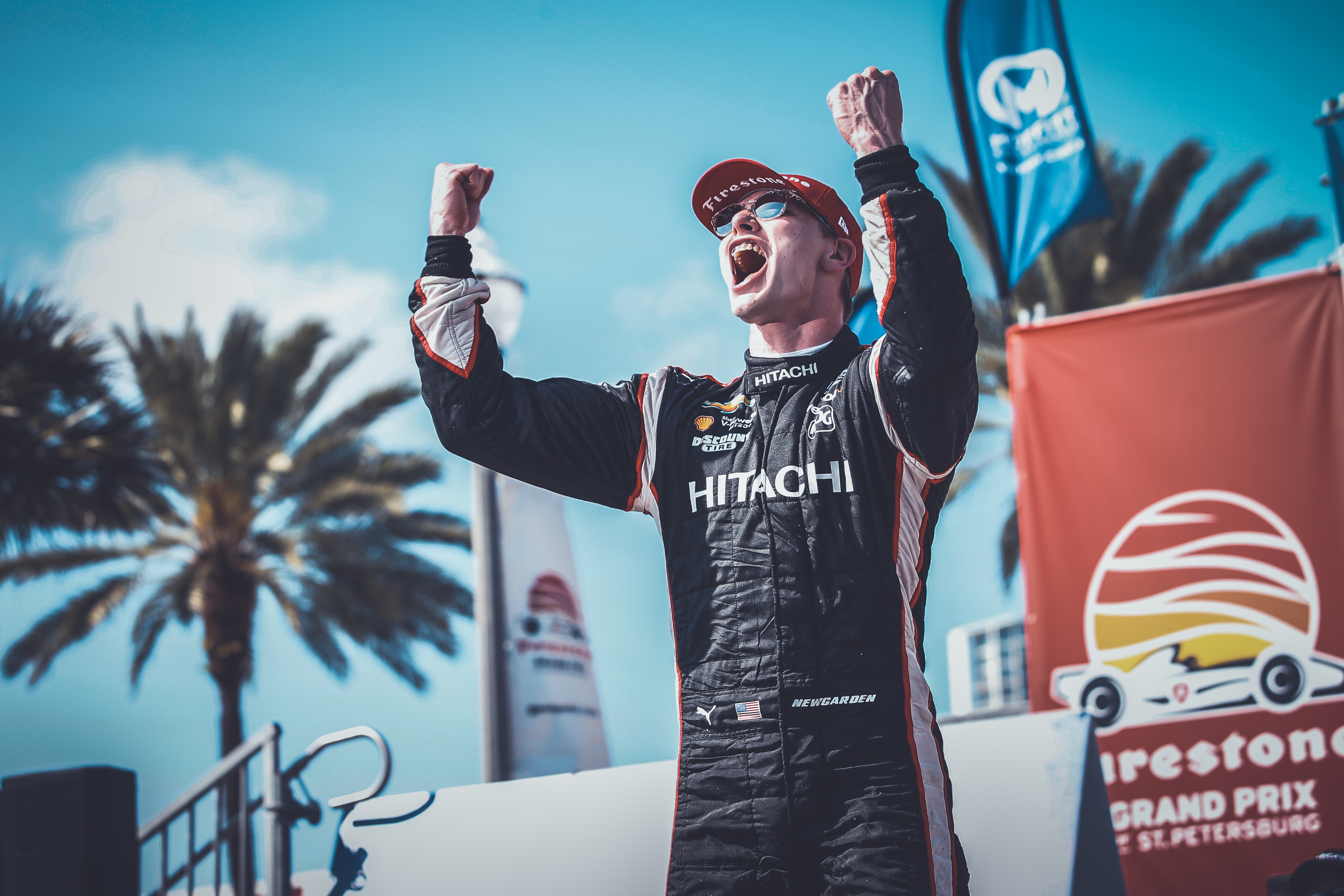 Newgarden's Middle Maneuver Leads to St. Pete Victory