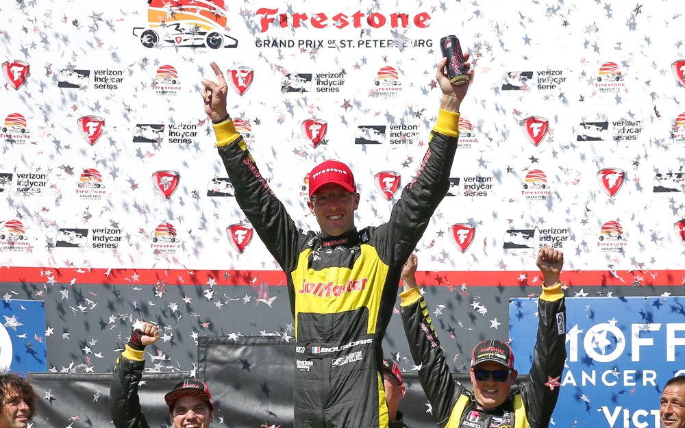 Bourdais Masters the Unexpected to Repeat Victory at St. Pete