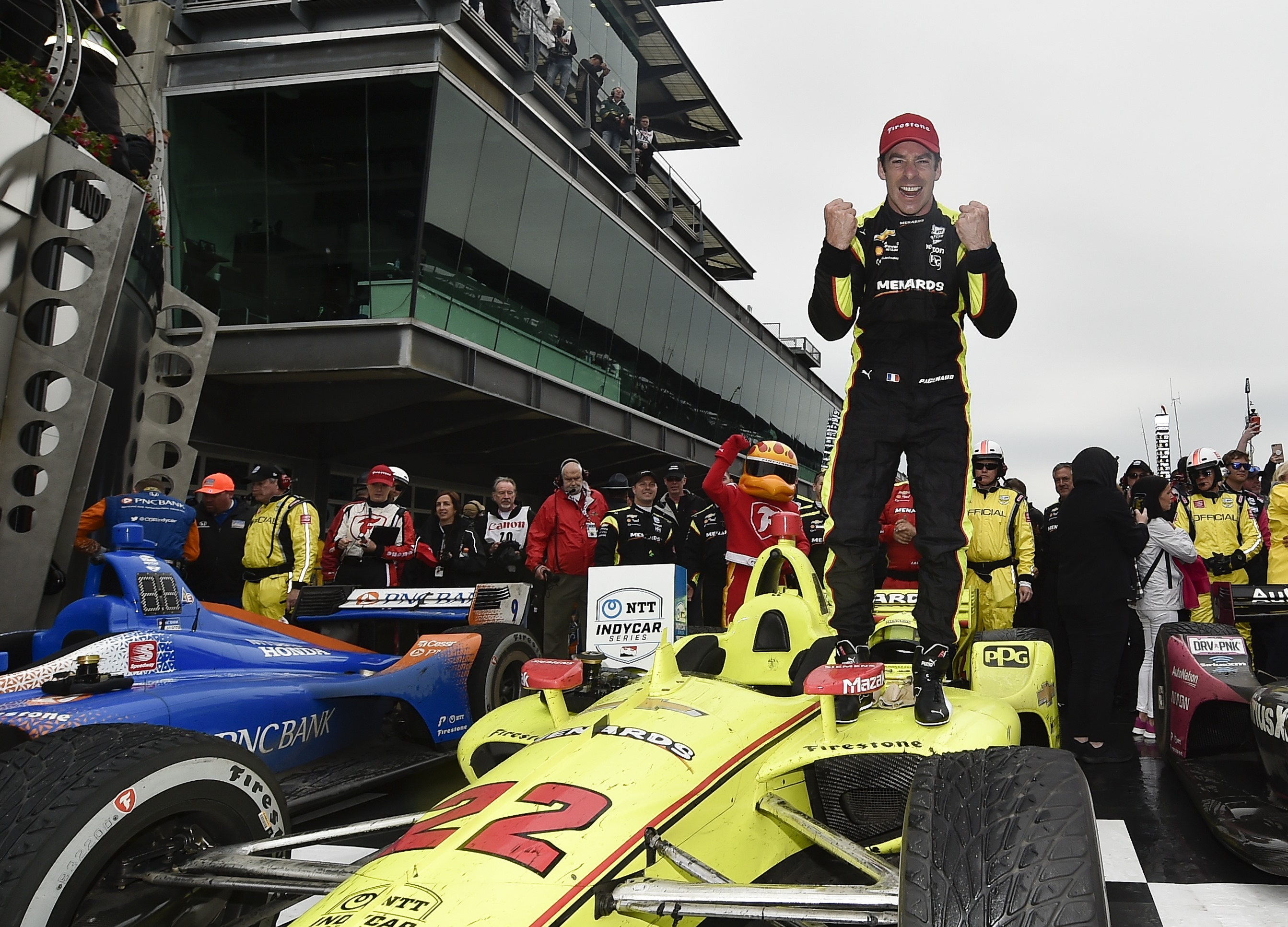 Pagenaud Ends Drought in Soggy INDYCAR Grand Prix