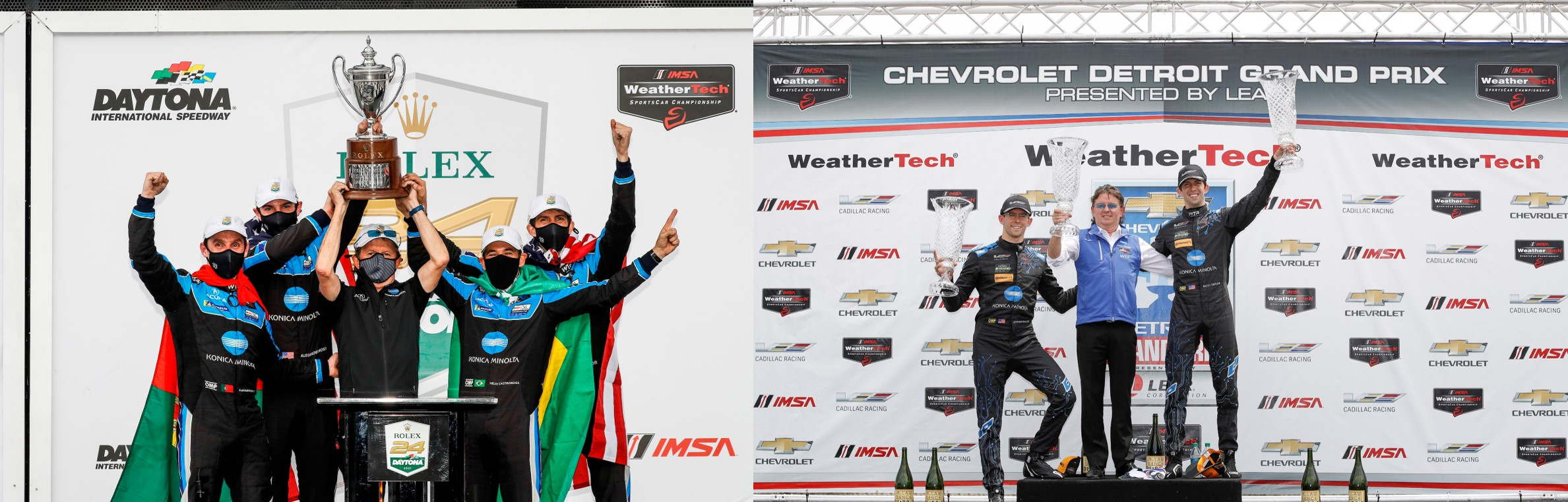 Former Detroit IMSA Champs Wayne Taylor Racing Build on Rolex 24 Success
