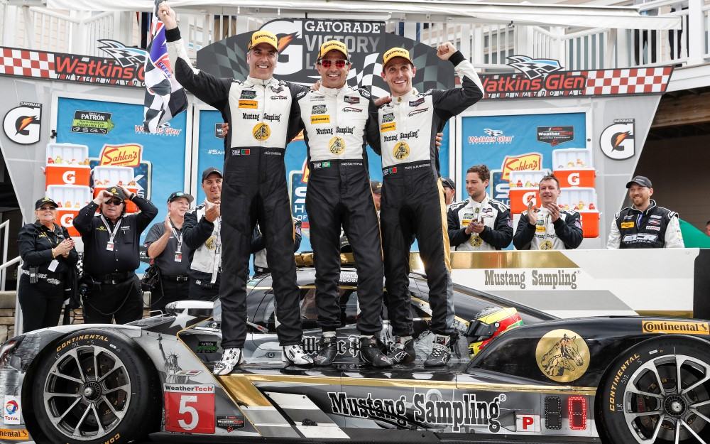 Action Express Racing Win Sixth Straight for Cadillac in Watkins Glen Race