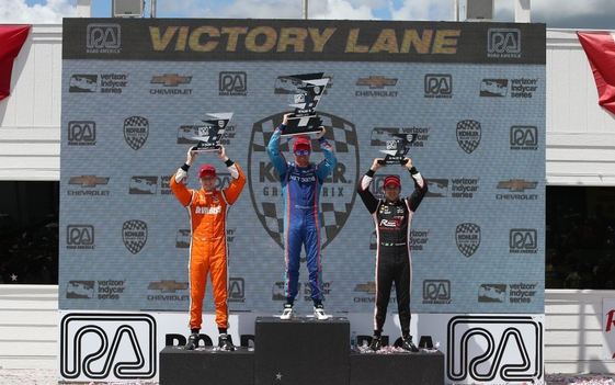 Dixon Nets First Road America Win, 41st of Indy Car Career