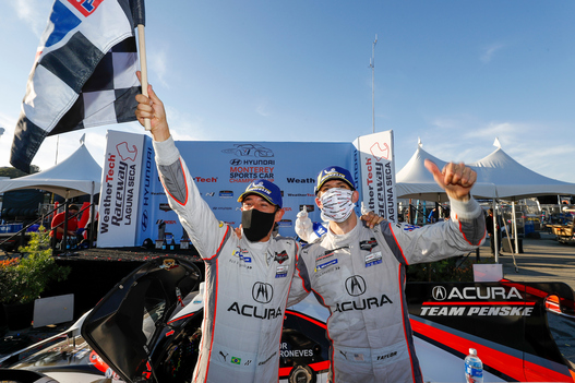 Title Fight Up for Grabs as No. 7 Acura DPi Wins at WeatherTech Raceway