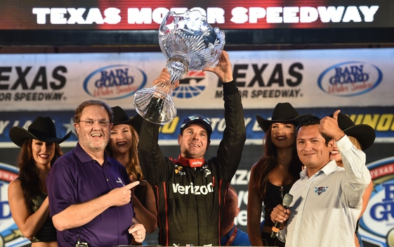 Power Claims 'Texas-Sized' Win at Rainguard Water Sealers 600