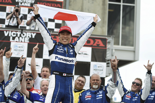 Near-Flawless Performance Takes Sato to Victory at Barber