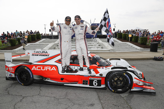 Cameron, Montoya Deliver Acura's First Detroit Win Since 2008, Snap GM's Win Streak in Chevrolet Sports Car Classic