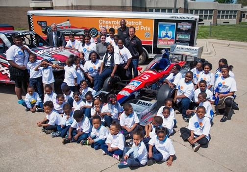 Chevrolet Detroit Belle Isle Grand Prix and PNC Renew Partnership With Grow Up Great and Fifth Gear Education Program