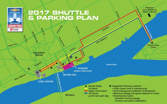More Options for Fans with the Grand Prix Transportation Plan