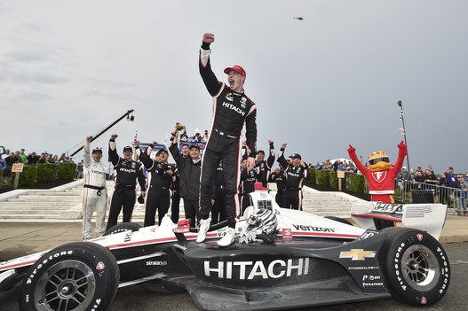 It's All About Timing for Newgarden in Win at Detroit Opener