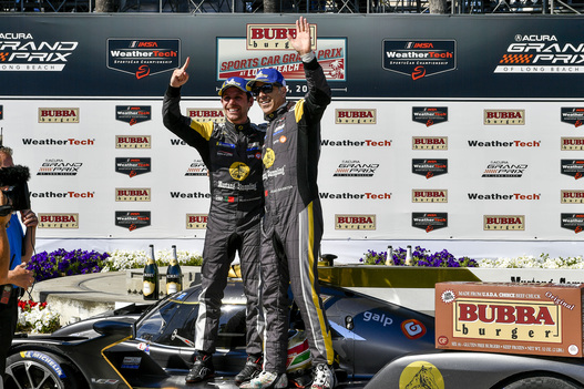 Albuquerque, Barbosa Go Back-to-Back in No. 5 Cadillac in Bubba Burger Sports Car Grand Prix at Long Beach