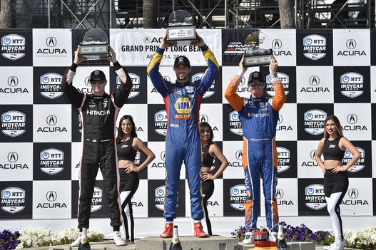 Rossi Races Away to Second Straight Dominant Long Beach Triumph