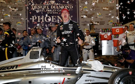 Late Pit-Stop Gamble Pays Off in Newgarden Win