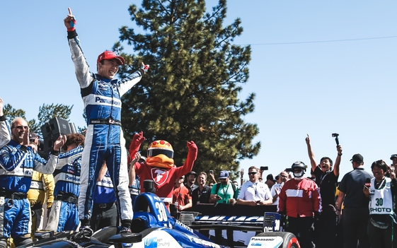 Sato Takes Win at Portland, While Dixon Dodges Disaster to Hold Points Lead