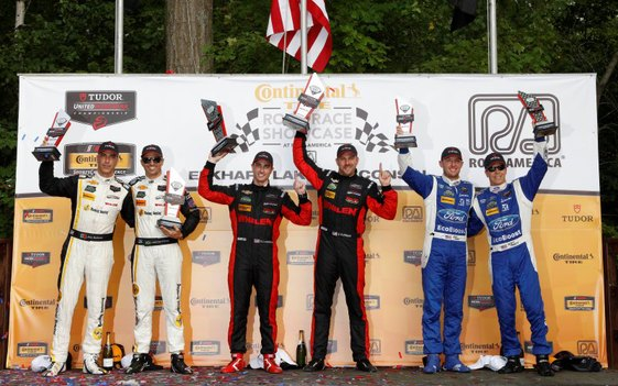 Cameron and Curran Lead 1-2 Sweep for Action Express at Road America