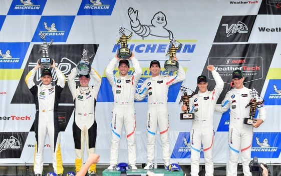 Sims, De Philippi Deliver First Worldwide Win for BMW M8 GTE in Michelin GT Challenge at Virginia International Raceway