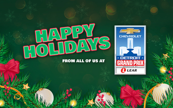Happy Holidays from Detroit Grand Prix
