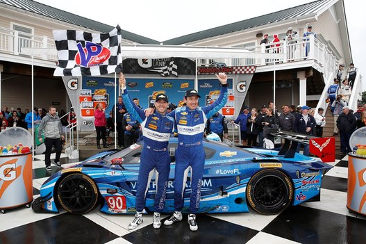 No. 90 VisitFlorida.com Corvette DP Wins Sahlen's Six Hours, First Prototype Team To Win Two Races In 2015
