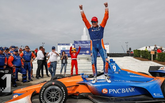 Dixon Lets His Indy Car Achievements Do Talking for Him