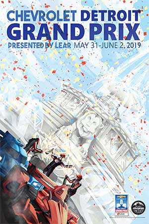 2019 Chevrolet Detroit Grand Prix presented by Lear Poster