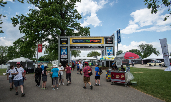 Welcome to Comerica Bank Free Prix Day on Belle Isle!